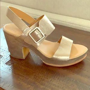 Kork-Ease San Carlos Soft Metallic Gold Sandal